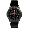 1 39 AMOLED Display Android WIFI Smart Watch 3G SmartWatch WristWatch Quad Core Bluetooth 4 0