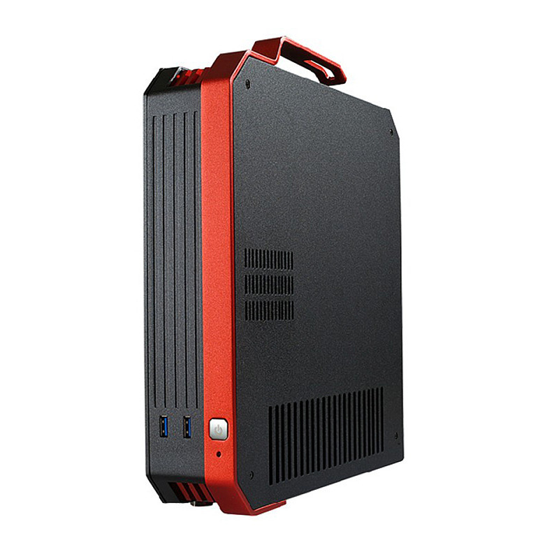 Desktop PC DIY Mini HTPC ITX Computer Case All Aluminum Pure Aluminum Mini Computer Case Desert Eagle 2 Generation(China (Mainland))