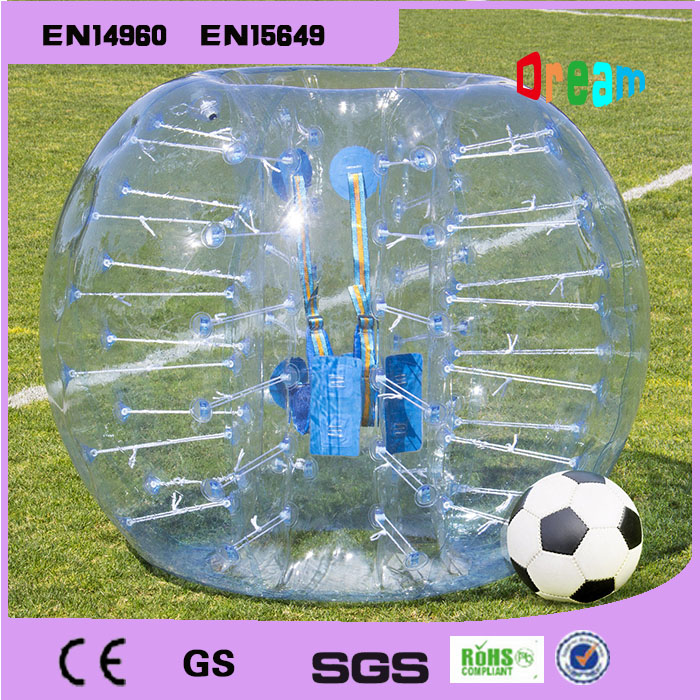 Free Shipping!1.5m Inflatable Football Bubble Ball Bumper Ball Body Zorbing Bubble Soccer Human Bouncer Bubbleball(China (Mainland))