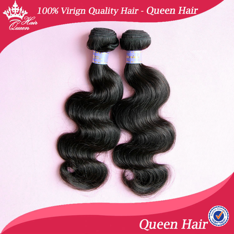 Queen Beauty Hair Products Malaysian Body Wave Hair Extension 2 pcs lot DHL Free Malaysian Human Hair Weave Wavy Body Wave<br><br>Aliexpress