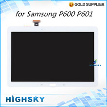1 piece free shipping replacement parts screen for Samsung galaxy Note 10.1 2014 Edition P600 P601 lcd display + touch digitizer(China (Mainland))