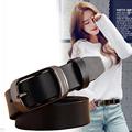 2017 New Fashion Wide Genuine Leather Belt Woman Vintage Cow Skin Belts Women Top Quality Strap