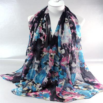 2015 New design women's cotton shawls long viscose 7 color hijab head wrap muslim scarves/scarf 10pcs/lot(China (Mainland))