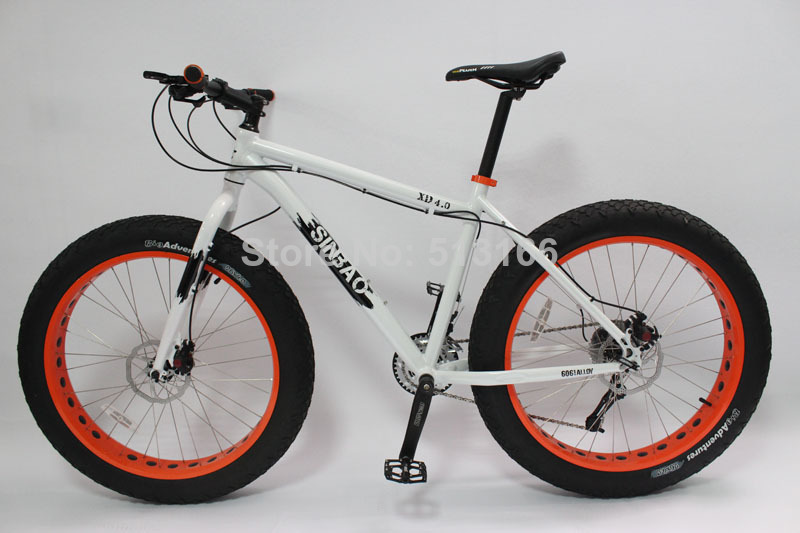 Cheap Bikes For Heavy People quot Fat Tire Bike New Sram
