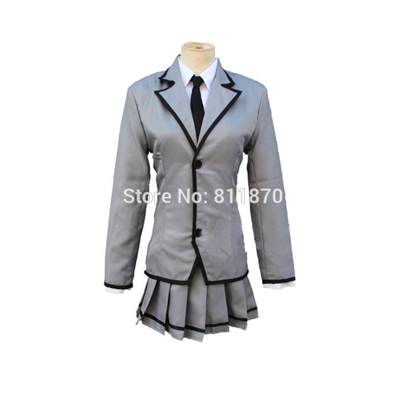 Assassination Classroom Cosplay Kayano Kaede Costume Women's Dress School Uniforms Suits