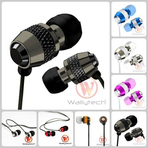 Stereo In Ear Metal Earphone Top 10 selling For MP3 ipod Touch iPad for iPhone 4 4S 5 5S 5C 6 Plus Touch 5 Handphone(China (Mainland))