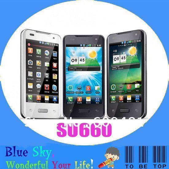 LG Optimus 2X SU660 mobile phone LG SU660 original cell mobile 3G 8.0MP Camera GPS WIFI