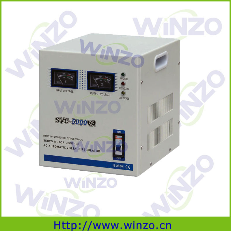 Electrical stabilizer servo motor control 5kva single for Single phase ac motor control