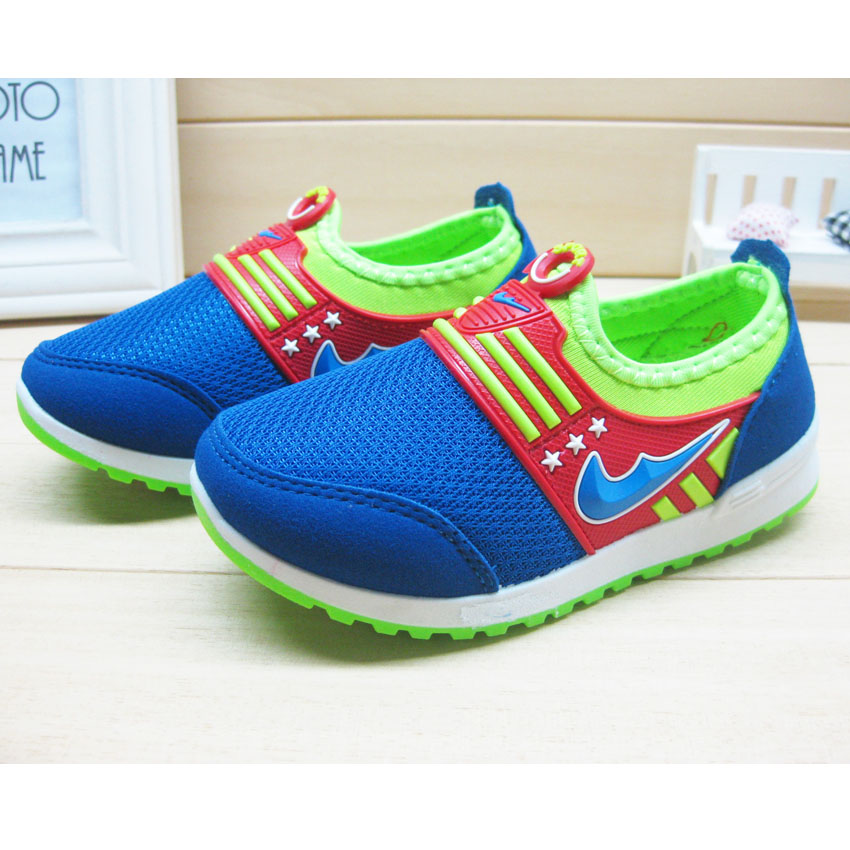 Boys and Girls KD Shoes Spring Autumn New Breathable Mesh Casual Sports Shoes Kids 2 Colors Size 28-33 Factory Direct Wholesale(China (Mainland))