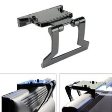 Feitong New TV Clip Clamp Mount Stand Holder for Microsoft Xbox 360 Kinect Sensor Mini Adjustable Support For Movement Sensors (China (Mainland))