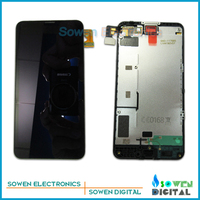 LCD display screen with touch screen digitizer with frame assembly full set for Nokia lumia 630 635 636 638,100% Original new