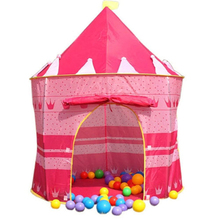 Prince Princess Castle Tent Children Tent children's play house toys for children infant baby playing game House135 * 105cm(China (Mainland))