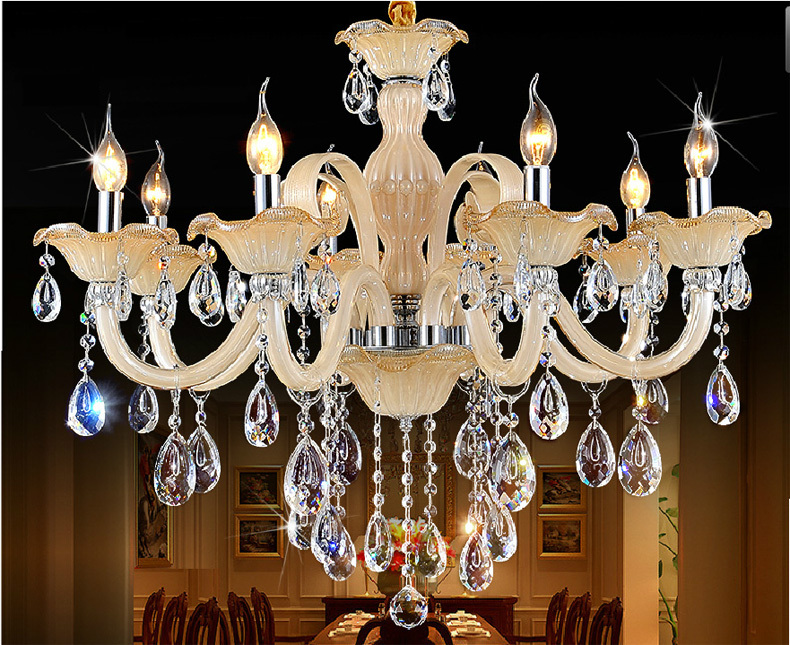 New Luxury Chandeliers and pending K9 Crystal Chandelie Lighting Lamp 8 Lights Hotle Hall lighting and VIlla Z125 Free Shipping<br><br>Aliexpress