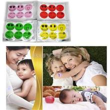 High Qulity Novetly Mosquito Repellent Stricker/6 Pcs/Bag Anti Mosquito Tools for Baby/Smile Face Type Mosquito Repellent Patch(China (Mainland))