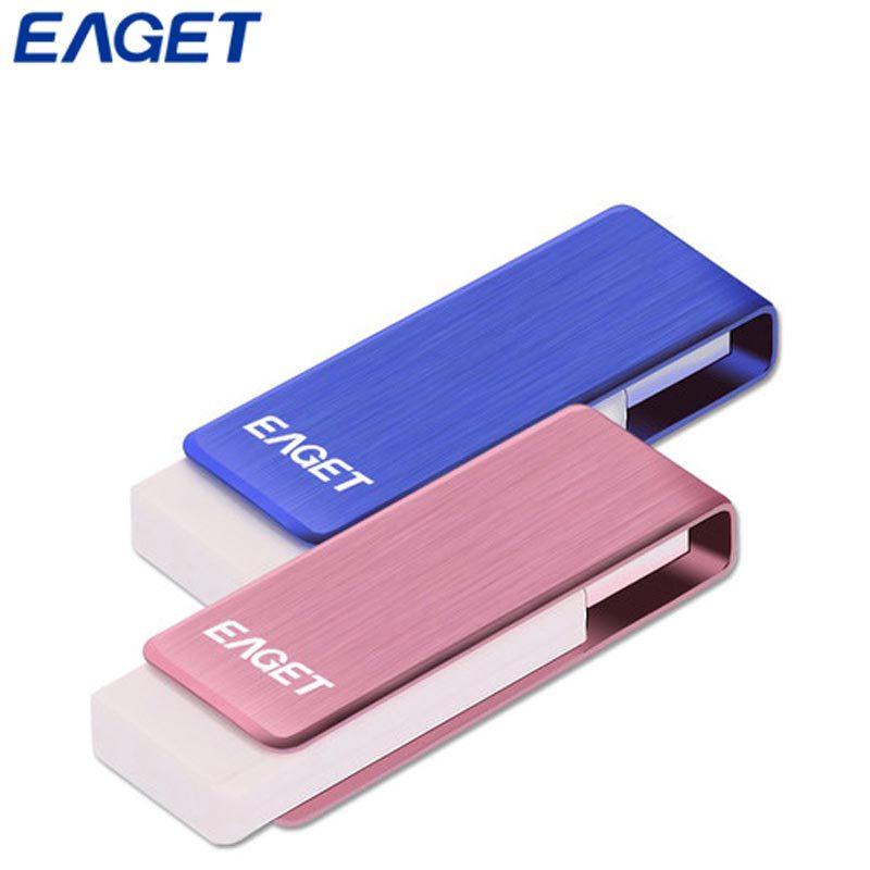 Original Eaget F50 Usb 3.0 Flash Drive 64GB Metal Pen Drive High Speed Memory Stick Waterproof Pendrive Pass H2test Disk On Key(China (Mainland))