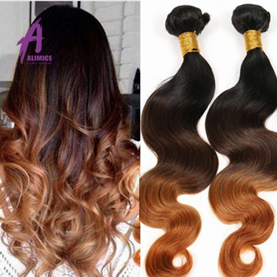 3 Tone Ombre Hair Extensions Peruvian Virgin Hair Body Wave Wavy Peerless Peruvian Body Wave 3 Bundles Cheap Human Hair Weave<br><br>Aliexpress
