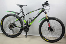 Fast shipping! light weight Mountain bicycle complete MTB bikes carbon fiber glossy complete bike greatkeenbike cheap selling!(China (Mainland))