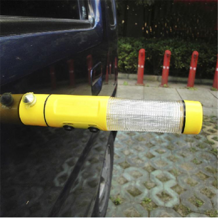 4 в 1 многофункциональные автоматический автомобиль экстренная молоток с светодиодный фонарик для автоматический - бывшее в использовании безопасный молоток