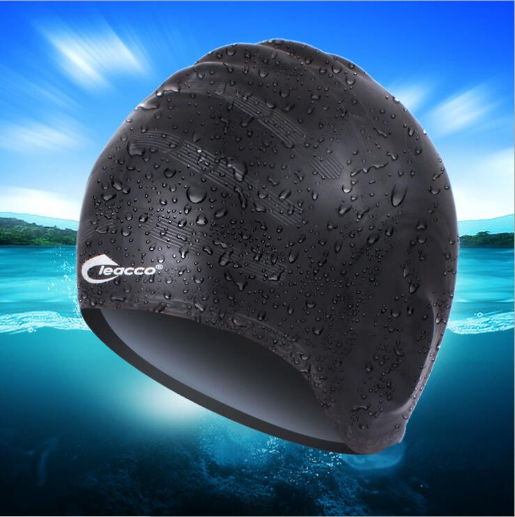 The New Professional Production Silicone Ear Cap Swimming Cap Silicone Waterproof Swimming Cap Game(China (Mainland))