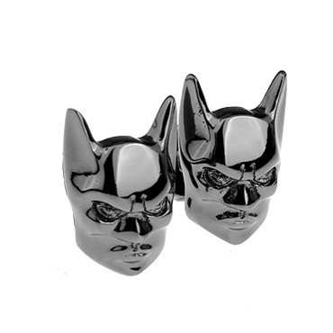 Batman Head Cufflink Cuff Link 4 Pairs Wholesale Free Shipping(China (Mainland))