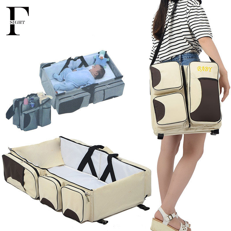 Portable Newborn Baby Bed Folding Travel Bassinet Carrycot