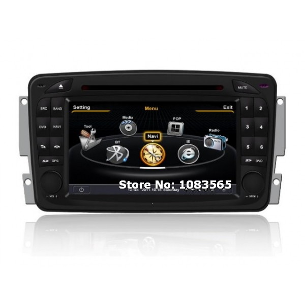 For mercedes benz g class w463 1998 2004 gps navigation for Mercedes benz truck radio code