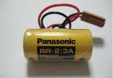 Бренд для Panasonic плк аккумулятор BR-2 / 3а плк промышленность управление , посвященный 3 v литиевая батарея с вилка 2 / 3а