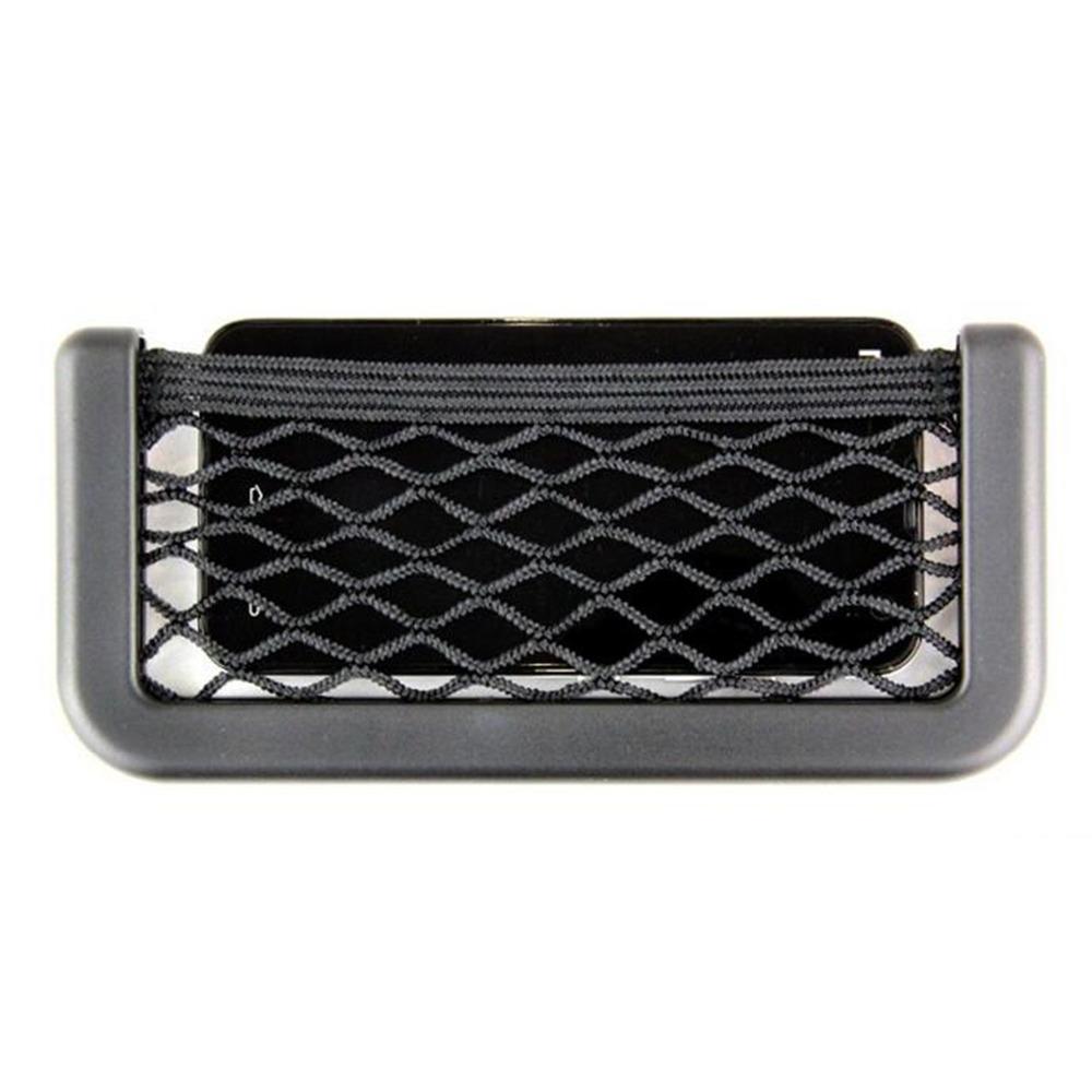 Car Seat Side Black Storage String Bag Automotive Interior Organizer Tuck Net String Bag Phone Pocket(Hong Kong)