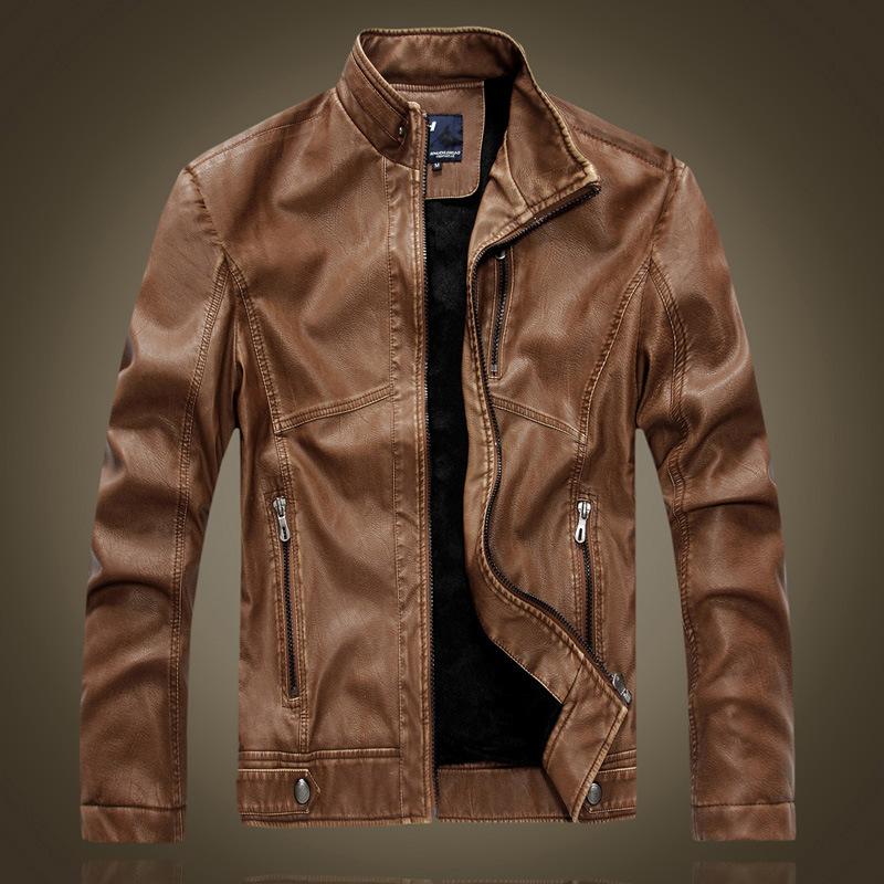 Retro leather jacket – Modern fashion jacket photo blog