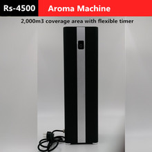 New Aroma Machine 2,000m3 Fan flexible timer 500ml cartridge Air purifier scent fragrance for office -1 year free warranty(China (Mainland))