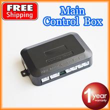 The Main Control Box for Car LED Parking Sensor Kit 4 Sensors 22mm Backlight Reverse Backup Monitor System 12V Free Shipping(China (Mainland))