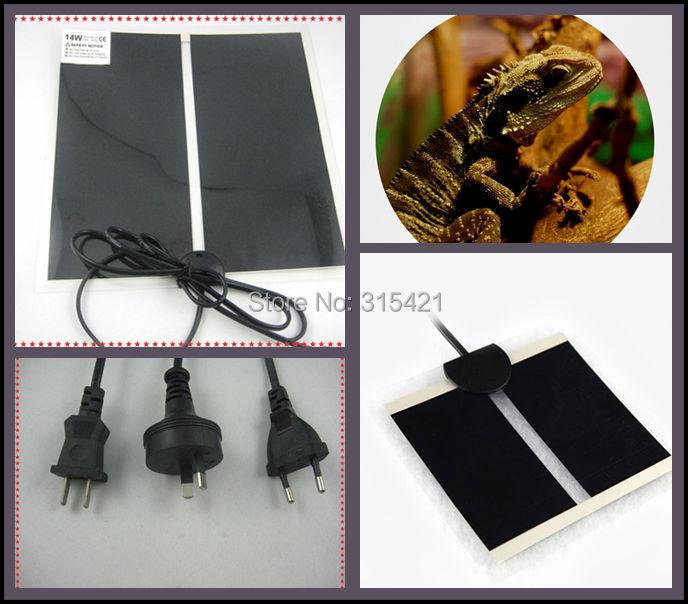 100Pcs/lot Reptipad Reptile Heat Mat or Pet Heat Pad 28x28cm 14W P410(China (Mainland))