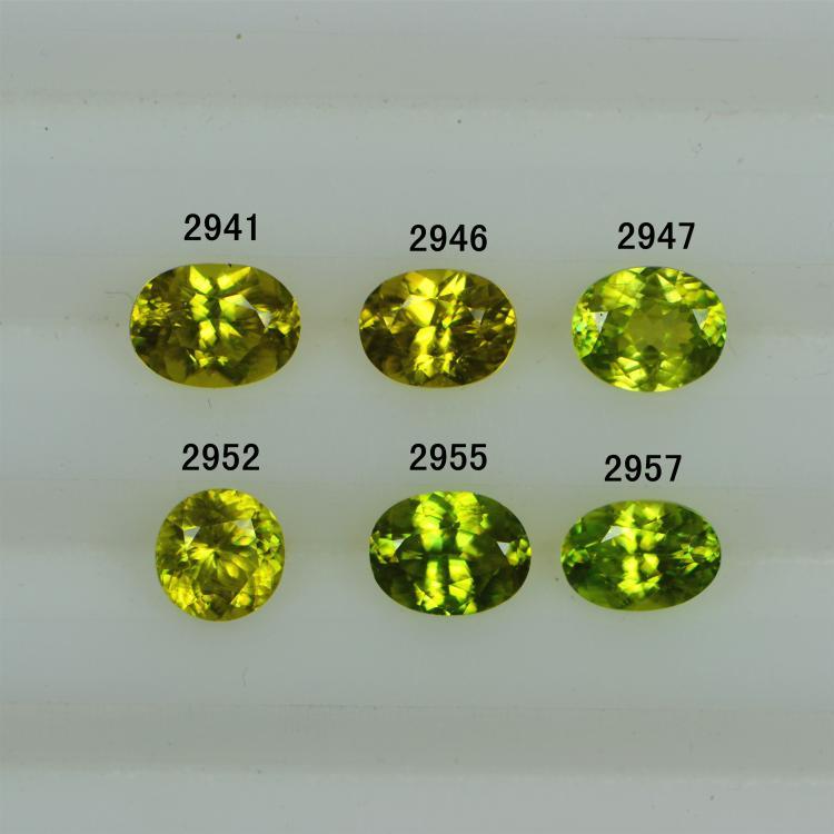 1 to 2ct VS class green Sphene loose gems(China (Mainland))