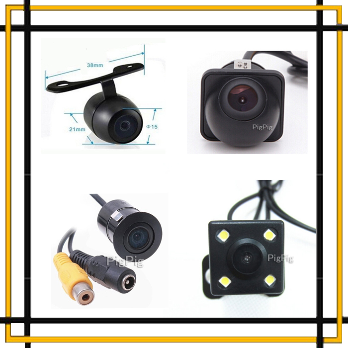 Promotion 170 Degree Wide Angle Universal Car Rear View Camera / Front View Camera Night Vision Waterproof Backup Parking Camera(China (Mainland))