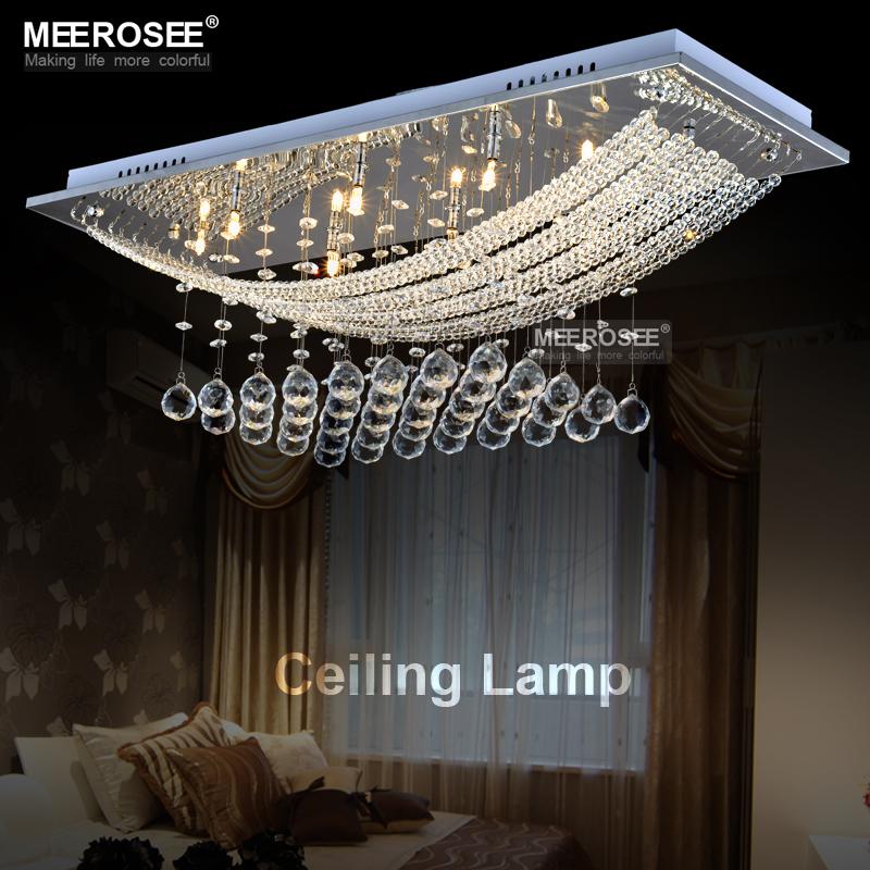 Hot sale Crystal Chandelier Light, Crystal Lamp lustres de sala Crystal chandelier Lighting With 8 G4 lights(China (Mainland))