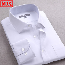 Men Shirt With Long-sleeves Business Shirt Men's Clothes Slim Fit Casual Mens Dress Shirts Plus Size New 2015