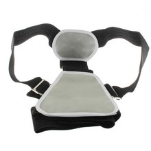 High Quality 1 PCS Adult Adjustable Shoulder Support Belt Flexible Posture Back Belt Correct Rectify Posture