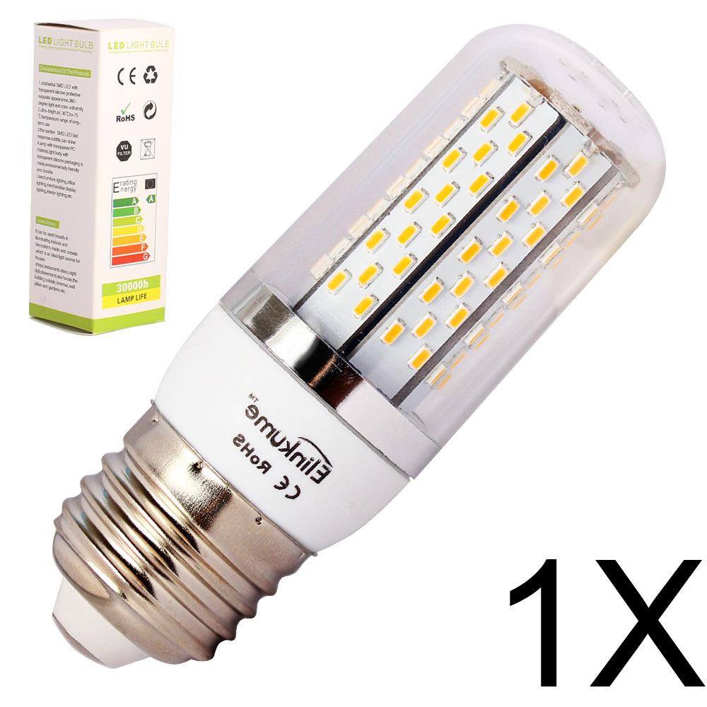 1X E27 LED Light Bulb 12W 16W E14 led corn LED Spot Light Bulb Lamp in crystal Lighting lamp E27 LED corn Spotlight AC85-240V(China (Mainland))