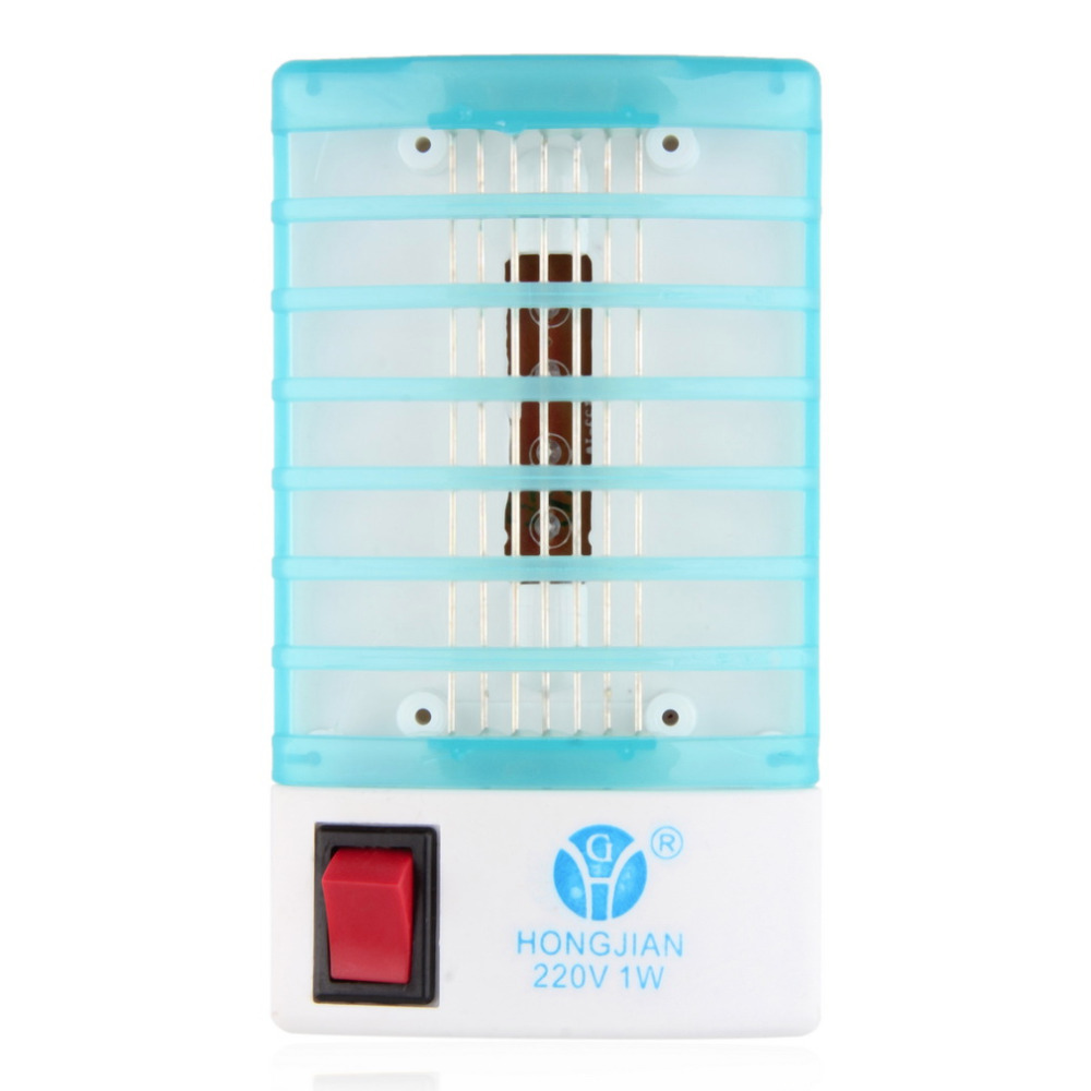 LED Socket Electric Mosquito Fly Bug Insect Trap Night Lamp Killer Zapper EU plugYKS(China (Mainland))