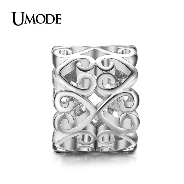 Umode мода белый позолоченный дизайн DIY подвески для браслетов ювелирного дизайна ...