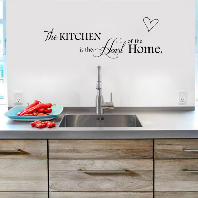 NEW!kitchen home decor creative quote wall  decorative adesivo de parede removable vinyl wall sticker 8305