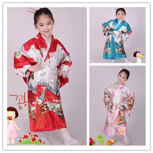Free shipping Hot!!! HOT SELL New Japanese kimono girls's ...