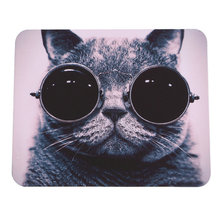 2016 HOT Selling Cat Picture Anti-Slip Laptop PC Mice Pad Mat Mousepad For Optical Laser Mouse Promotion!(China (Mainland))