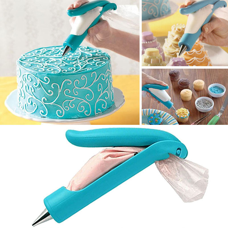 Hot Sale Pastry Piping Bag Nozzle Tips Fondant Cooking Sugar Cake Kitchen Accessories Decorating Pen Tools A1(China (Mainland))