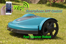 The Cheaper WIFI Smartphone Wireless Control Robot Lawn Mower TC-158N Updated Water-proofed Charger,CE&ROHS