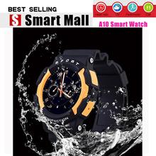 2016 водонепроницаемый IP67 спорт Smartwatch для плавания MTK2502 Bluetooth 4.0 для iphone android OS здоровья трек