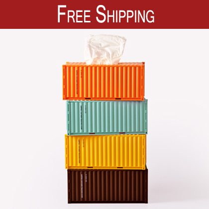 Free Shipping!Creativity household tissue pumping magnet diy tissue box personalized stacking container paper towel tube(China (Mainland))