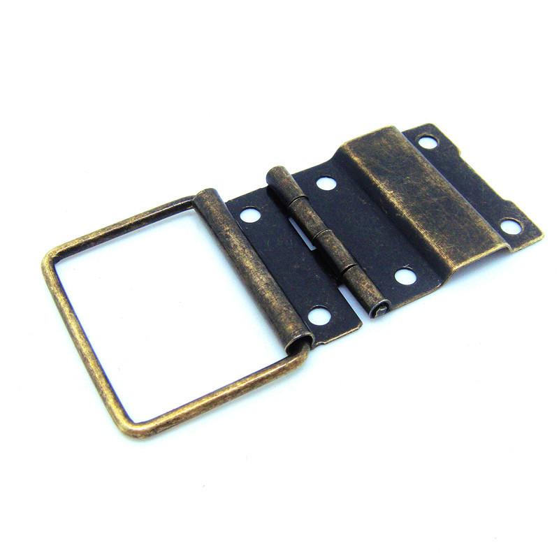 50pcs 29*45mm antique furniture hinges jewelry box hinges retro jewelry box hardware antique hardware wholesale(China (Mainland))
