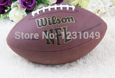 2016 Pro Brand official American football rugby ball bola futebol americano Adult size 9 for traing and match High-grade PU(China (Mainland))