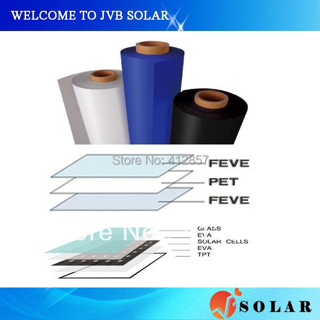 Promotion 10M Solar PV TPT backsheet with Tedlar+PET+Tedlar for encapsulation of photovoltaic cell panel kit(China (Mainland))